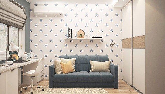 Выбираем цвет стен для детской комнаты
