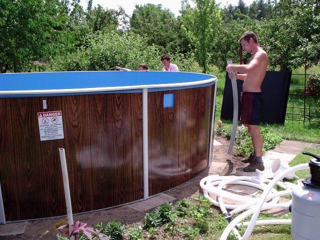 Фильтр для воды в бассейн своими руками