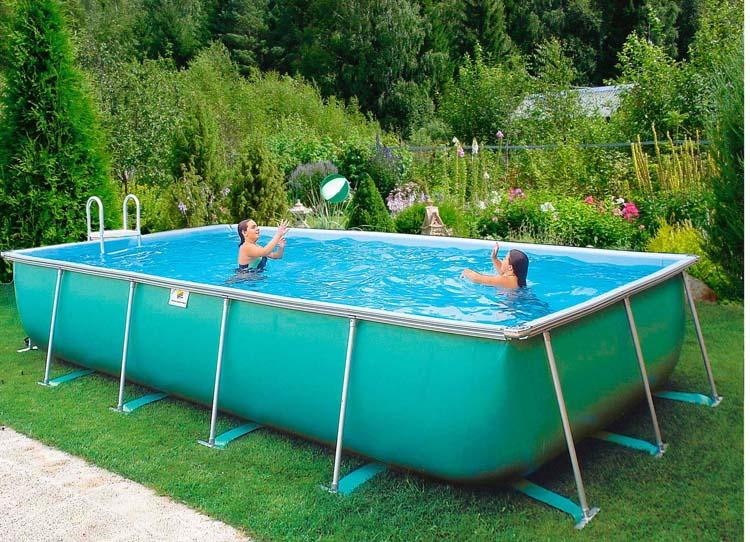 Бассейны для дачи типы бассейнов